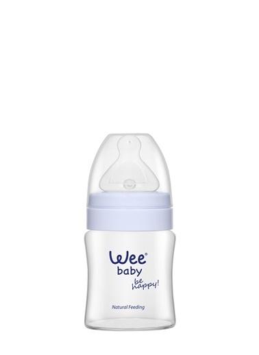 Wee Baby 787 Geniş Ağızlı Isıya Dayanıklı Cam Biberon 120 ml-Wee